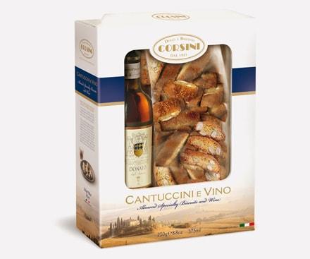 Cantucci e vino Corsini