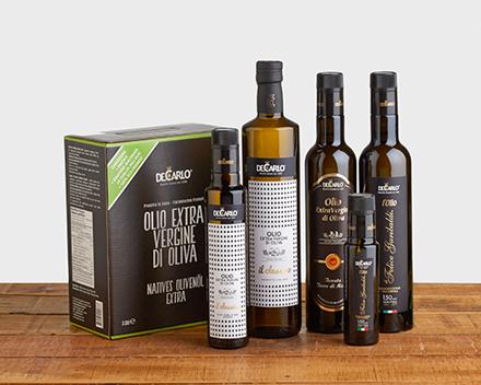 De Carlo olio extra vergine di oliva